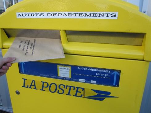 Pvt 2011 c est parti blog pvt en famille au canada for Suivi courrier demenagement la poste