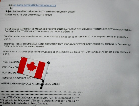 letter of application  exemple lettre d u0026 39 introduction pvt canada